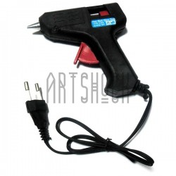 Термопистолет Hot Melt Glue Gun, 20W, 110V - 220V, 50Hz/60Hz, Ø7-8 мм.