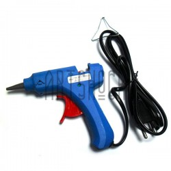 Термопистолет Hot Melt Glue Gun, 20W, 110V-240V, 50Hz/60Hz, Ø7-8 мм., HELI