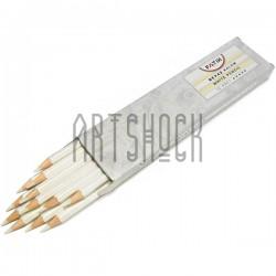 Белый карандаш для художников и рисования бликов, шестигранный, FATIH