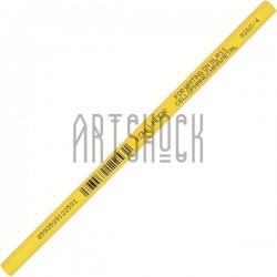 Карандаш - стеклограф для нанесения рисунка на стекло, фарфор, пластмассу, металл, желтый, Koh-i-Noor