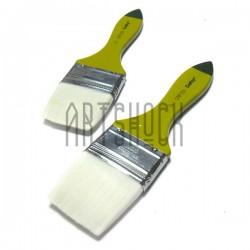 Кисть синтетическая, флейц плоская, 50.8 мм., Craftsy
