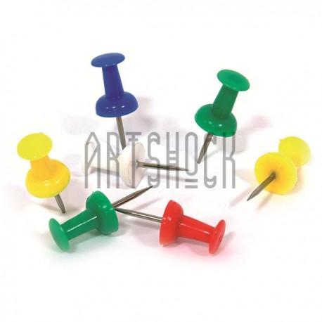 Кнопки - гвоздики канцелярские, Arrow