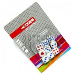 Игральные кубики - кости цветные, 9 штук, Coneri