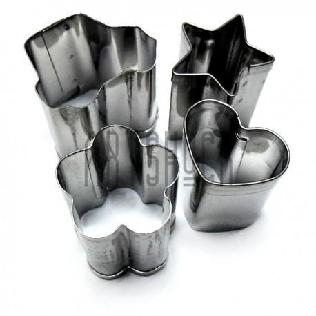 Набор металлических каттеров для полимерной глины, пластики и пластилина купить в Киеве и Украине