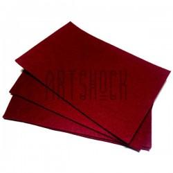"""Фетр для поделок и рукоделия """"Бордовый"""", 1 мм., 20 х 30 см."""