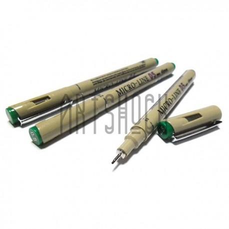 Рапидограф MICRO-LINE, зеленый, 05 (0.45 мм.), Superior
