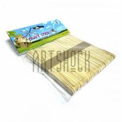 Набор декоративных палочек для рукоделия (палочки для мороженого), 11.5 x 1 см., 50 штук, Craft Sticks