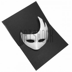 """Венецианская карнавальная маска """"Пламя"""", с резинкой, 21 см. х 23 см."""
