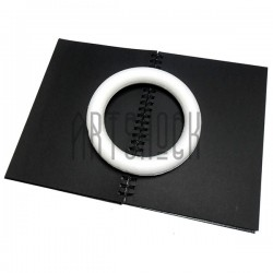 """Фигурка из пенопласта """"Основа для венка"""", диаметр 20 см., толщина стенки 3 см."""