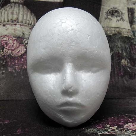 "Фигурка - заготовка из пенопласта ""Голова"", 10 см."
