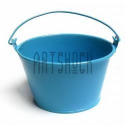 """Заготовка металлическая оцинкованная цветная """"Ведро овальное"""", голубое, Maries"""
