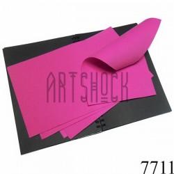Фоамиран розовый (пластичная замша), толщина 1 мм., 20 x 30 см.
