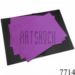 Фоамиран фиолетовый (пластичная замша), толщина 1 мм., 20 x 30 см.