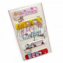 "Набор дизайнерского пластыря ""Hello Kitty"", 5 штук, Popular Fashion"