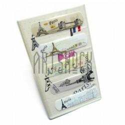 """Набор дизайнерского пластыря """"The tower Paris"""", 5 штук, Popular Fashion"""