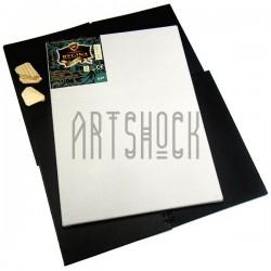 Холст грунтованый на подрамнике, р-р: 30x40 см., лён, 350 гр/м2