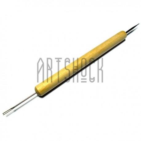 Инструмент для квиллинга вилочка, двухсторонний, REGINA