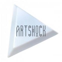 Палитра - измерительная (мерка) треугольная, 7.5 см. - лоток для бисера (треугольник, пирамидка)