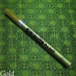 Маркер - краска, gold, 0.7 мм., SIPA