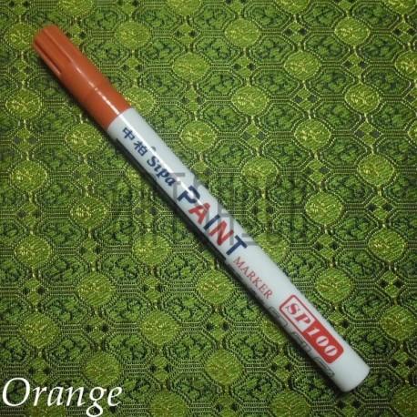 Масляный маркер - краска, orange, 2 мм., SIPA