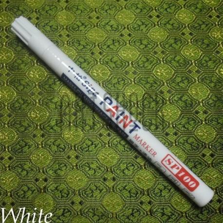 Масляный маркер - краска, white, 2 мм., SIPA