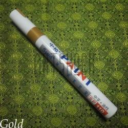 Масляный маркер - краска, gold, 3 мм., SIPA
