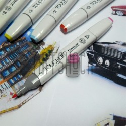 Маркер-копик TouchLiit Twin Marker, RP7 cosmos, Maieart Art