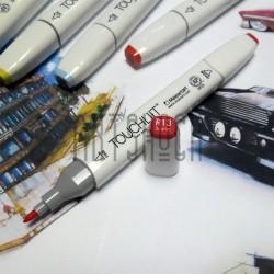 Маркер-копик TouchLiit Twin Marker, R13 scarlet, Maieart Art