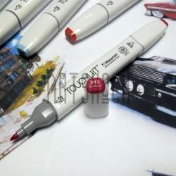Маркер-копик TouchLiit Twin Marker, R15 geranium, Maieart Art
