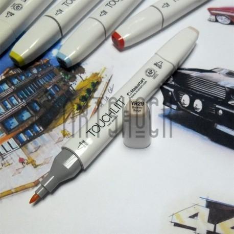 Маркер-копик TouchLiit Twin Marker, YR29 bareley beige, Maieart Art