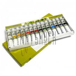 Набор художественных акварельных красок, 14 цветов по 12 мл., Maries