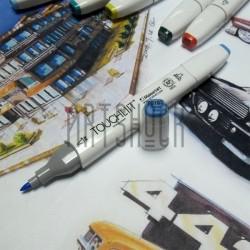 Маркер-копик TouchLiit Twin Marker, PB183 phthalo blue, Maieart Art