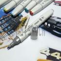Маркер-копик TouchLiit Twin Marker, PB77 pale blue, Maieart Art