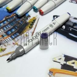 Маркер-копик TouchLiit Twin Marker, P83 lavender, Maieart Art