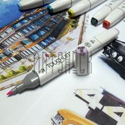 Маркер-копик TouchLiit Twin Marker, P147 pale lilac, Maieart Art