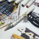 Маркер-копик TouchLiit Twin Marker, BR134 raw silk, Maieart Art
