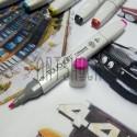 Маркер-копик TouchLiit Twin Marker, F125 fluorescent rose, Maieart Art