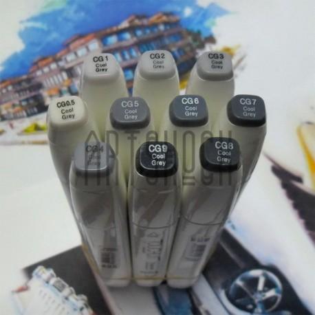 Маркер-копик TouchLiit Twin Marker, CG5 cool grey, Maieart Art