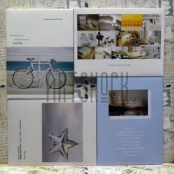 """Почтовые открытки для посткроссинга """"My Way"""", 105 х 144 мм., 15 открыток"""