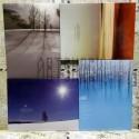 """Почтовые открытки для посткроссинга """"Silence"""", 105 х 144 мм., 15 открыток"""
