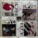 """Почтовые открытки для посткроссинга """"I miss you"""", 108 х 146 мм., 32 открытки"""