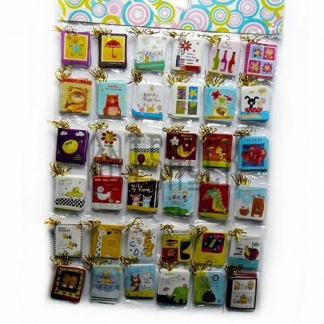 """Набор открыток """"Мультики"""" для посткроссинга, украшения букетов и цветов, 45 х 55 мм., 288 открыток"""