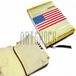 "Блокнот ""AMERICA"", 84 х 124 мм., 72 листа, YASAC"