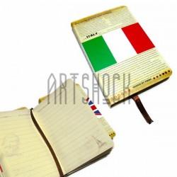 """Блокнот """"ITALY"""", 84 х 124 мм., 72 листа, YASAC"""