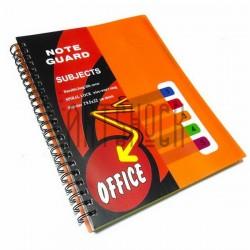 Блокнот - тетрадь с разделителями А4, 120 листов, 5 разделов, в клетку, Office