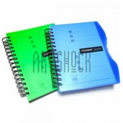 Блокнот - тетрадь с разделителями А5, 150 листов, 5 разделов, в клетку, Student Book