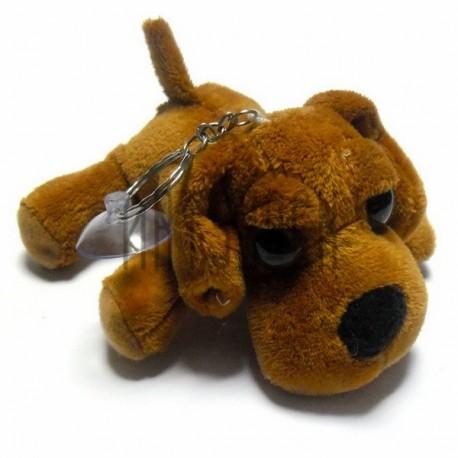 """Мягкая игрушка """"Рыжая собака с большими глазами"""" на присоске, RUSS"""