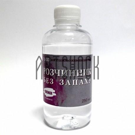 Растворитель без запаха для разбавления масляных, пентамасляных и алкидных красок купить в Киеве и Украине