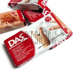 Глина для моделирования белая 1 кг., DAS