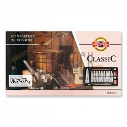 Масляные краски CLASSIC, 10 цв. по 16 мл., Koh-I-Noor
